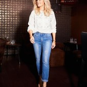 ☘ Качественные джинсы, моделирующие фигуру, Tchibo(Германия), размеры наши: 44-46 (38 евро)