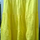 Очень красивая летняя юбка в пол, 100% коттон. Р-р 36 (46-48). Состояние отличное.