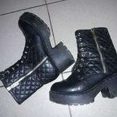 ботинки высокие(смотрите описанте и фото