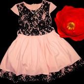 Хит продаж! Новое, шикарное платье на рост 146