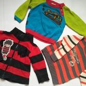 Два свитера и кофта на мальчика 1-2 года