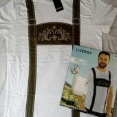 ❦Шикарная футболка  Livergy,Германия  S 44/46 eur,в упаковке❦