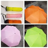 Зонт полуавтомат,диаметр купола 55см.