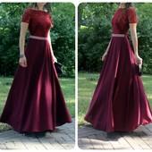 Красивое до слез нарядное платье с-м