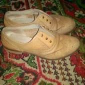 Туфли итальянские кожаные 37 р, состояние идеальное