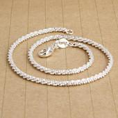 Красивый браслетик длина 24 см, есть проба 925 серебра. Слегка закручен