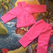 Красивый костюм весенний на девочку 2-3 годика