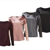 Собери свой образ! Акция! Шикарнейшие блузы Premium коллекции Esmara! Черная m/l (последние)!!!