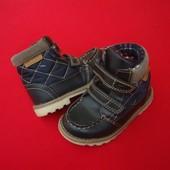 Деми ботинки George navy blue 25 размер