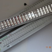 Очень большой и яркий светодиодный светильник 84 LED