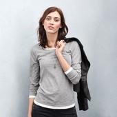 ☘ Эффектный пуловер с круглым вырезом от Tchibo(Германия), размеры наши: 44-46 (36-38 евро)