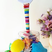 Развиваюшая игрушка погремушка подвеска Lamaza