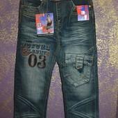 Круті джинси! Для хлопчика! +ремінь. 6 7 8 9 10р
