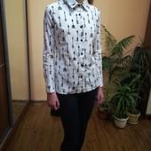 стильная рубашечка натуральная ткань