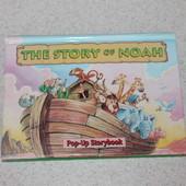 книга с объемными картинками The story of noah