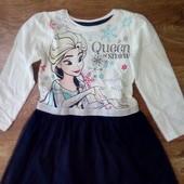 Новое! Красивое платье Disney на р.98,104,110,116,122,128,134,140 см.