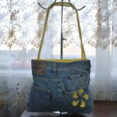 Джинсовая сумочка на плечо из Германии,отличное состояние.