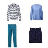 ☘ Полный лук от Tchibo (Германия), блуза+рубашка+джеггинсы+юбка, р.: 46-48 (38/40 евро)