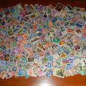 Гора почтовых марок разных стран мира. 530 шт. Много старины!