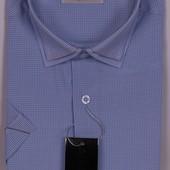 Рубашки с коротким рукавом. s, m, xl, xxl. Замеры в описании.