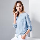 Нежная и стильная блуза рубашка 42р евро Тсм Tchibo Германия смотрите замеры