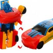Хит! Яркий красочный трансформер высокого качества! Трансформируется в машину и обратно. Супер!
