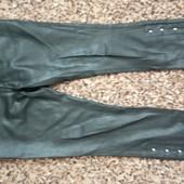 Женские брюки под кожу