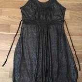 Шикарное платье. Красивая блестящая ткань