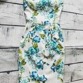 Шикарна фактурна сукня з принтом