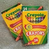 Оригинал, восковые карандаши crayola, Америка
