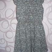 Милое шифоновое платье фирмы Next 6-7 лет