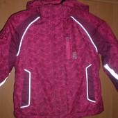 Куртка, деми,  внутри флис, размер 5 лет 110 см. Raintex
