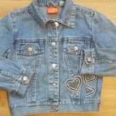 курточка джинсовая рост110