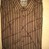 новая мужская  рубашка  Clockhouse  р.L  38% коттонн+62%полиэстр  (сток на дефекты проверено)
