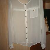 новая блуза  Cubus  p.S(36) 100%полиэстр   (сток на дефекты проверено)