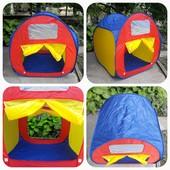 Палатка детская самораскрывающияся Волшебный домик, сухой бассейн!