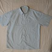 Брендовая голубая рубашка Northwood✓Англия✓Сток без бирки✓На очень крупного мужчину✓