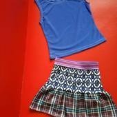 Майка + юбка для девочки! Смотрите замеры!!