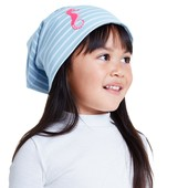 ☘ Двусторонняя шапочка Морской Коник, био-хлопок, Tchibo (Германия), размер: one size, мини-нюанс