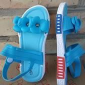 Босоножки -18,5(7) см стелька. голубые