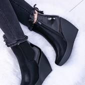 Ботинки на платформе демисезон. Последние размеры!