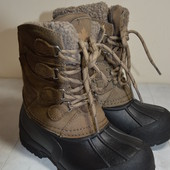 Детские  кожа+резина   ботинки  (термо)  30  р.стелька 19 см.
