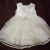 Нарядное платье для девочки 2-3 года, 98 см