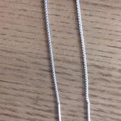Новые серебрянные серьги, без бирки , подарок, очень нежные и красивые ,не мой стиль,