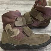 Термо ботиночки Ricosta pepino с мигалками  26 размер стелька 17 см . Состояние отличное !!!!