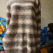 Шикарная очень красивая модная кофточка с паетками в хорошем состоянии, пог 56. L