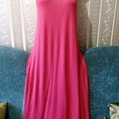 новое модное яркое платье майка 36-38р. европ.