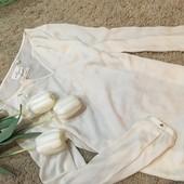 Нежная блузка молочного цвета Holly whyte