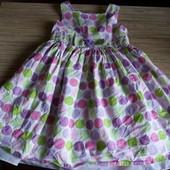 Красивенное платье- сарафан для девочки 5-7 лет