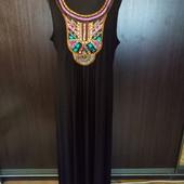 Шикарное,  красивенное платье в пол. По бирке 20р. 95% вискозы